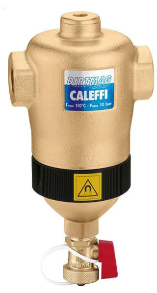 "Caleffi 2"" SWEAT DIRT SEPARATOR W/ MAGNET"