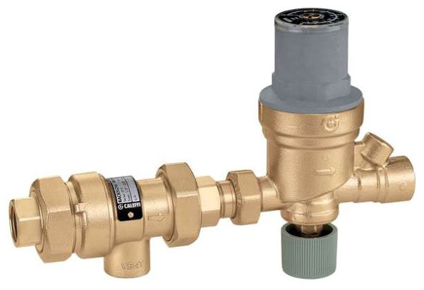 """Caleffi 1/2"""" Backflow Preventer with FIP Outlet Autofill"""