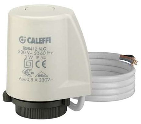 Caleffi Zone Valve Actuator with Micro Switch