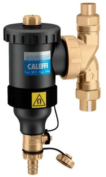 """Caleffi 1"""" Sweat Dirt Separator with Magnet Vert/Horiz"""