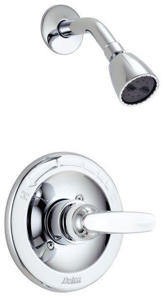 Delta Shower Faucet Trim 1 Handle Foundations Cp