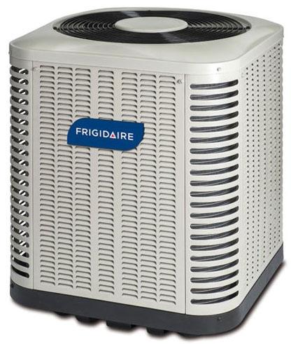 Frigidaire Air Conditioner, 208/230 VAC 60 Hz 1-Phase, 23400 BTU/Hr Cooling, 13 SEER/10.5 EER, 700 CFM, R410A, Polyester Urethane, Galvanized Steel, Outdoor