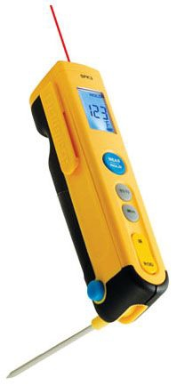 Rod And Infrared Temp. Pocket Thermometer