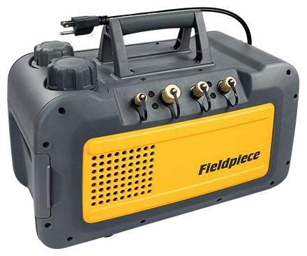 Fieldpiece RunQuick™ Vacuum Pump, 95 to 130 VAC 60 Hz, 1/3 HP, 5 CFM, 3440 RPM, 2-Stage, 4-Port
