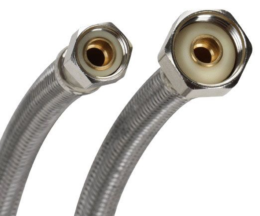 "3/8"" x 12"" Lav Riser Stainless Steel S1-12Af"