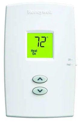 Honeywell Thermostat Heat Only Non Program Pro 1000