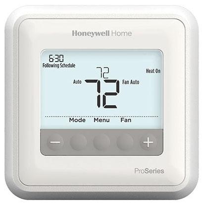 Honeywell T4 Pro Stat 1H/1C 7-Day Programable 5-2,5-1-1