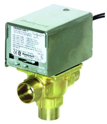 "Honeywell 3/4"" 3-Way Zone Valve for Fan Coil"