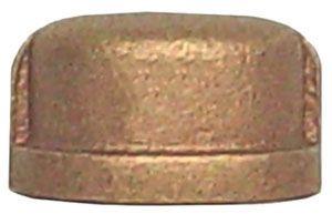 """1/2"""" Brass Cap"""