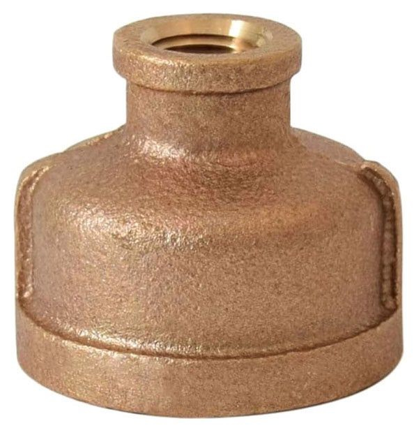 "3/4"" x 1/2"" Brass Coupling Reducer"