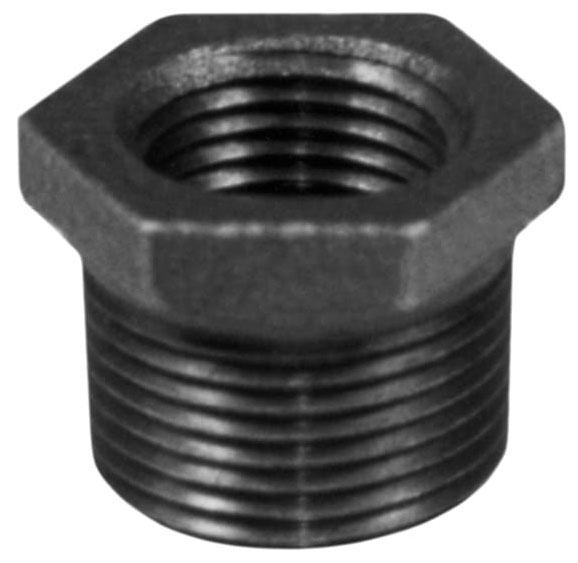 "Matco 1/2"" x 1/4"" Black Iron Bushing Reducer"