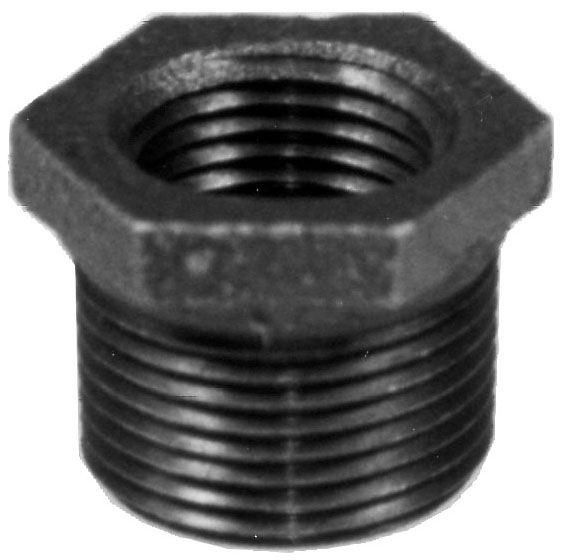 "Matco 1/2"" x 3/8"" Black Iron Bushing Reducer"
