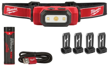 Milwaukee Tool Hard Hat Light W/Usb Charger
