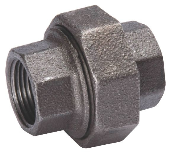"Matco 1-1/2"" Black Iron Union"