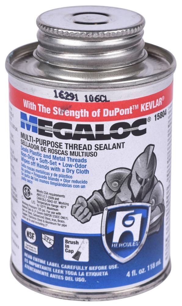Megaloc Pipe Dope Thread Sealant - 4 Oz