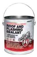 Hercules Roof and Flashing Sealant, 1 Gallon, Can, Black