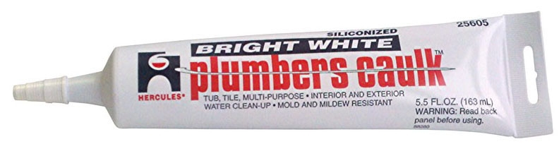 Clear Caulk - 6 Oz Tube