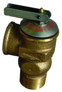 "3/4"" FIP Boiler Relief Valve 30Lb"
