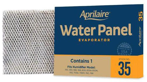Aprilaire Model 35 Water Panel Evaporator for Models 350, 360, 560, 568, 600, 700, 760 & 768