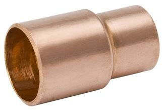 """2-1/2"""" x 2"""", FTG x C, 700 PSI, Lead-Free, Wrot UNS C12200 Copper Alloy, Reducer"""