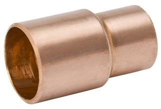 """2"""" x 3/4"""", FTG x C, 700 PSI, Lead-Free, Wrot UNS C12200 Copper Alloy, Reducer"""