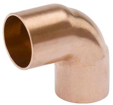"3"" x 3"", C x C, Lead-Free, Wrot UNS C12200 Copper Alloy, 90D, Short Radius, Straight, Elbow"