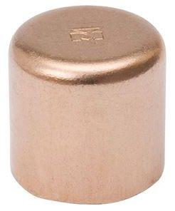 "2"", C, 700 PSI, Lead-Free, Wrot UNS C12200 Copper Alloy, Cap"