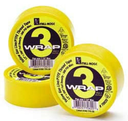 "1/2"" Yellow Teflon Tape 260"" Roll (70820)"