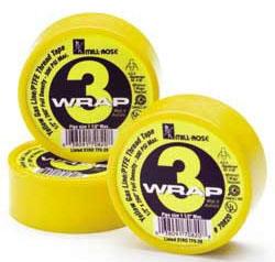 "1/2"" Yellow Teflon Tape 260"" Roll (70820)"