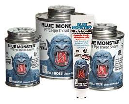 PTFE Pipe Thread Sealant - Blue Monster - 8 Oz