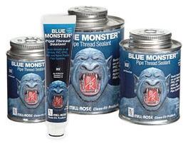 Pipe Thread Sealant - Blue Monster - 1 Pt