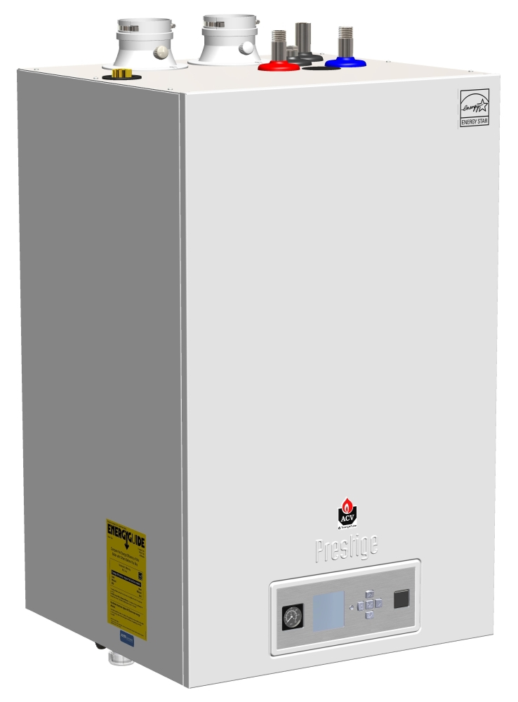 Triangle Tube Boiler and Water Heater, High Efficiency, Hot Water
