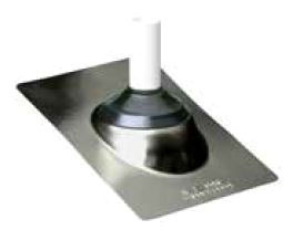 "Oatey 2"" No Caulk Metal Roof Flashing (Gb-2, 11853)"