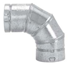 "4"" B-Vent 90 Elbow Adjustable"