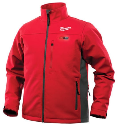 M12 HEATED TOUGHSHELL JACKET KIT - RED LARGE