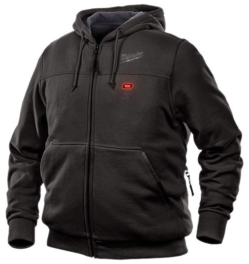 Milwaukee Tool Toughshell Jacket Kit, Large, Black, Waffle Weave Thermal Lining, Cotton/Polyester