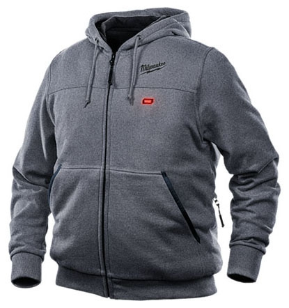 M12 HEATED HOODIE KIT - GRAY LARGE (302G-21L)