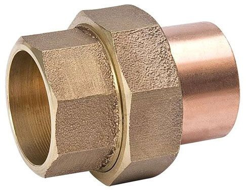 """1-1/4"""" Copper Union"""