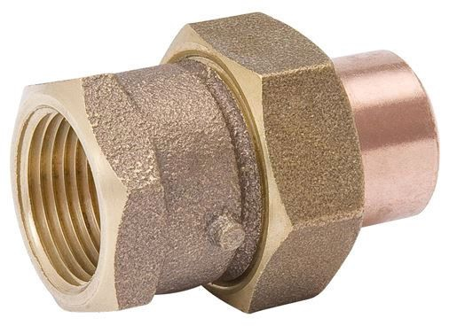 "3/4"" Copper x FIP Union"
