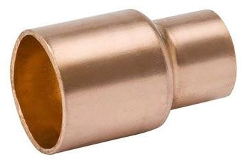 "1-1/4"" x 3/4"" Copper Reducer Coupling"