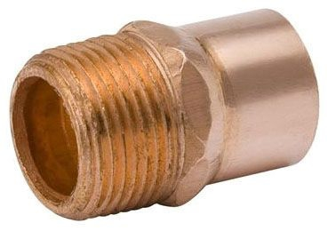 "1-1/4"" Copper x Mip Adapter"