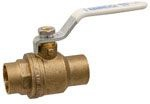 "Nibco 1"" Sweat Ball Valve Full Port Lead Fre"
