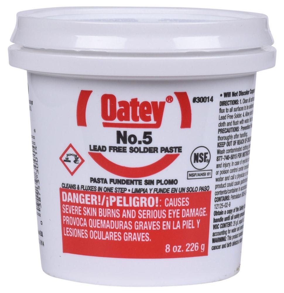 Oatey Paste Flux Number 5 - 8 Oz (30014)