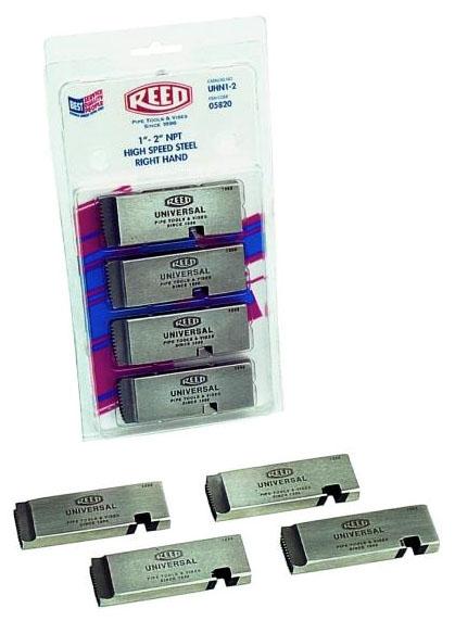 """Reed Segmental Threading Die, 2"""", NPT, High Speed Steel, Right Hand Configured"""