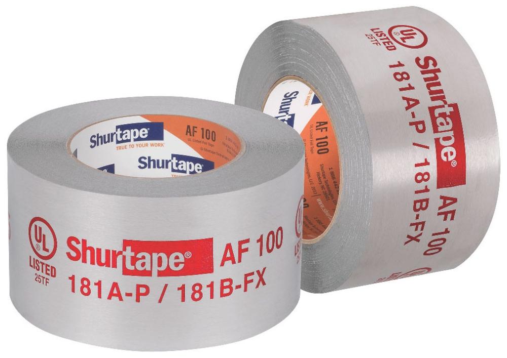 """Shurtape 2-1/2"""" x 60' Aluminum Tape (104474 Ezp)"""
