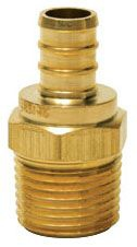 "Sioux Chief 3/4"" PEX x Mip Adapter Crimp (Pxnl412)"