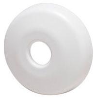"""1/2"""" Escutcheon Shallow White"""