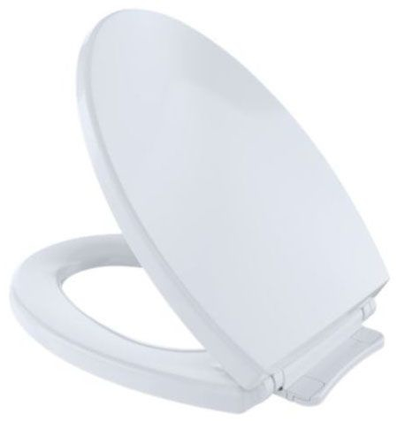 Toto Elongated Plastic Seat Soft Close White