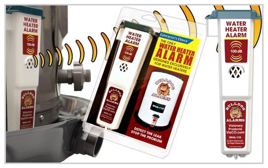 Vizco Water Heater Alarm ( No Battery)