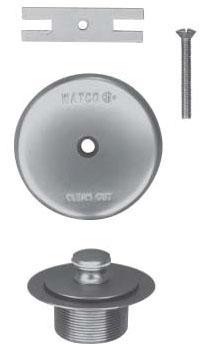 Watco Push-Pull Tub Trim Kit Oil Rub Bronze 600Series